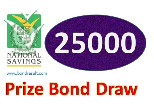 Prize bond 25000 Result List Lahore 1st February