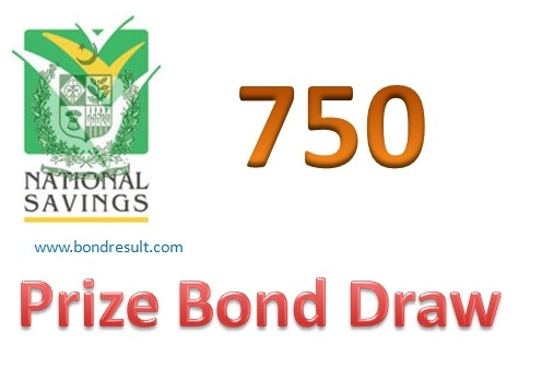 Rs 750 Prize Bond List Draw Results Held Rawalpindi April 2018