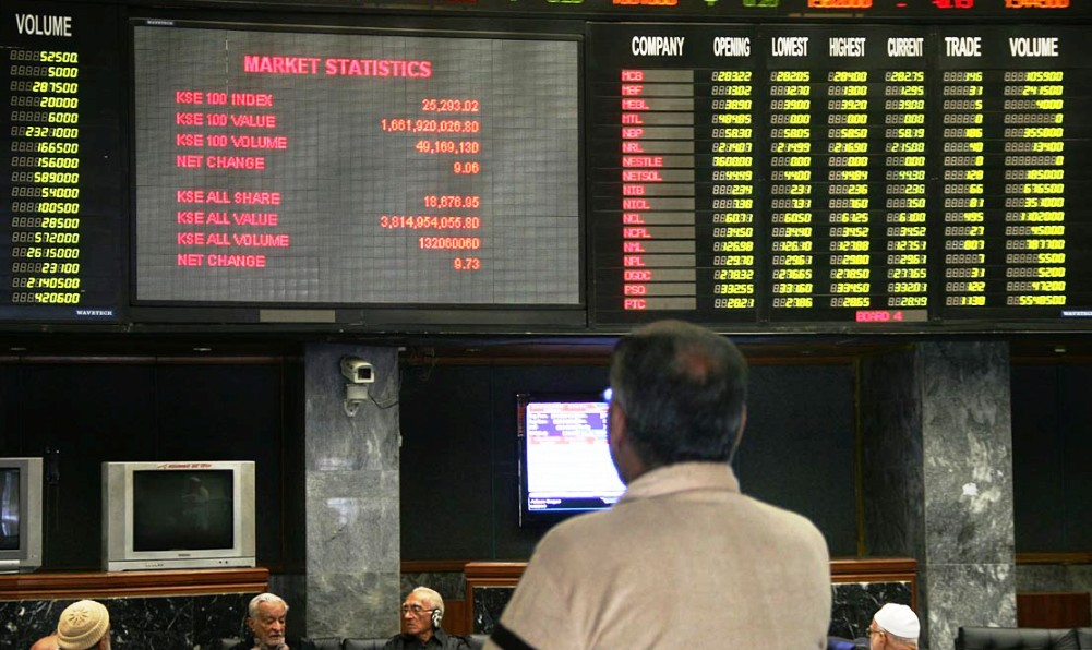 arachi stock exchange on Tuesday's business activities are under the influence of the political crisis