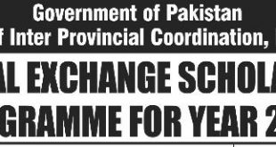 Cultural Exchange Scholarships Program jobs by nts