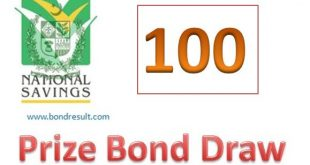 Rs. 100 Prize bond list Feb, 2019 Faisalabad