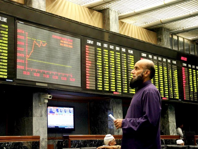 Political worries knock KSE-100 off highs