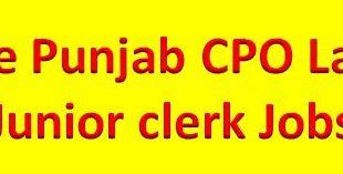 Punjab Police Junior Clerk Jobs 2014 Written Test Result 2015