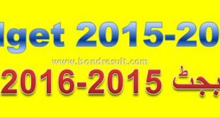 Budget 2015-2016 Govt employee salary