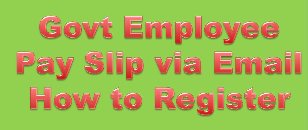 PIFRA Salary Slip Registration Method