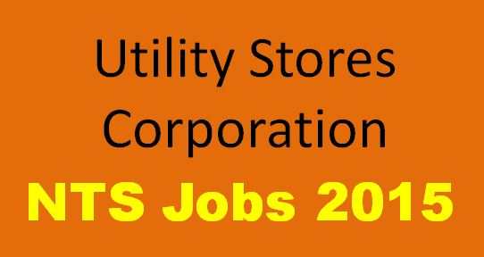 Utility Stores Corporation Jobs October 2015 NTS Application Form Download Latest Advertisement