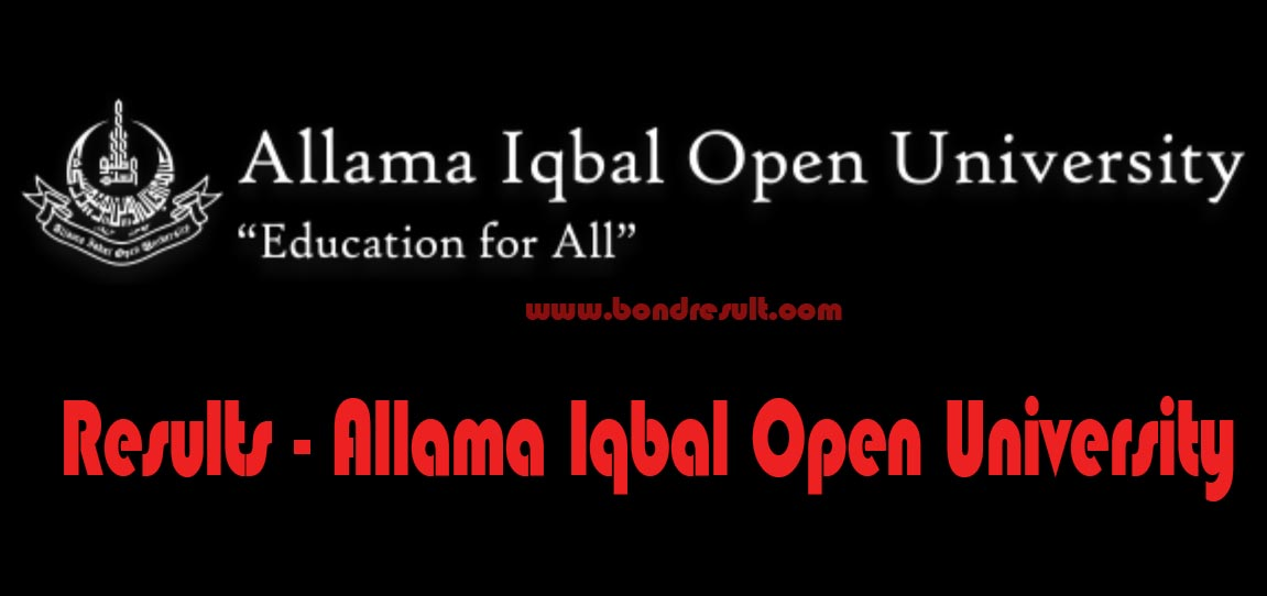 AIOU Results 2017 All Allama Iqbal Open University Result Online