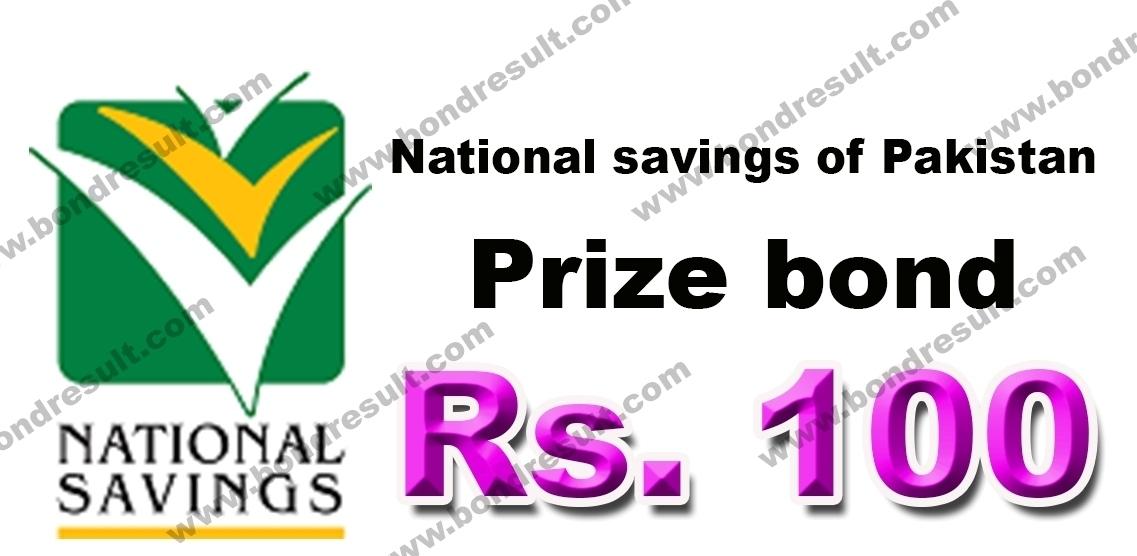 100 Prize bond List by National savings