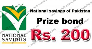 Rs. 200 Prize bond list Draw #76 Result, 17 December, 2018 Hyderabad