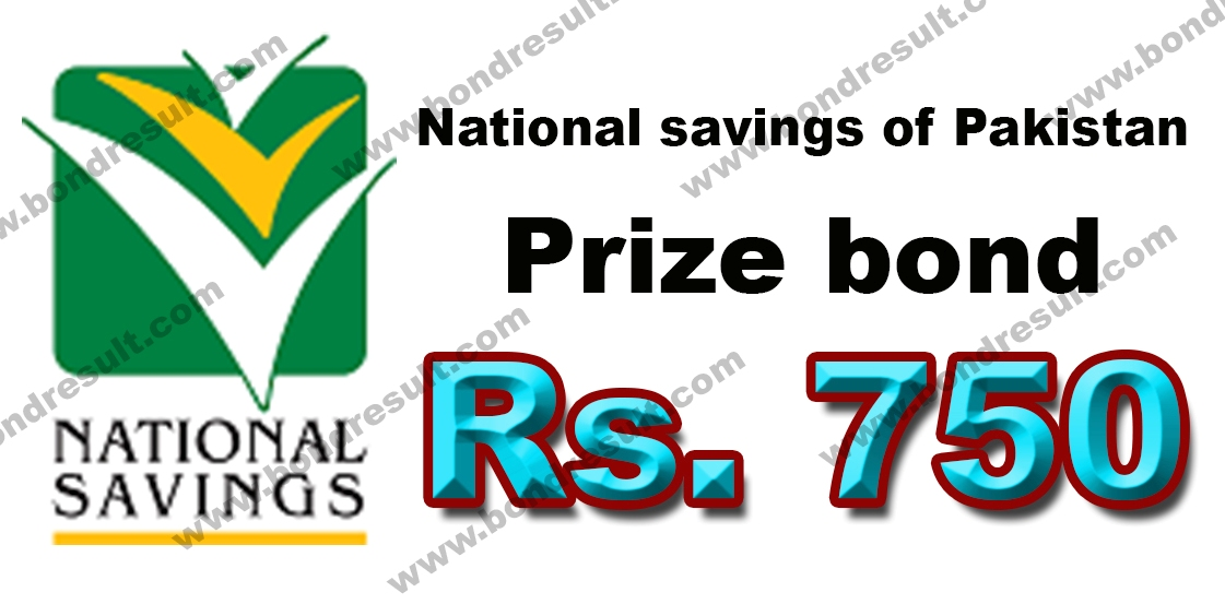 Prize bond 750 List by savings.gov.pk