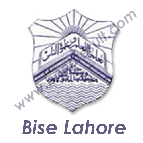 BISE LAHORE logo in PNG