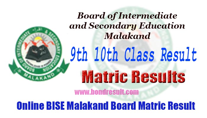 BISE Malakand Board 9th 10th Class Result 2018