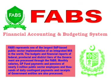 FABS CGA Pakistan (Financial Accounting & Budgeting System)