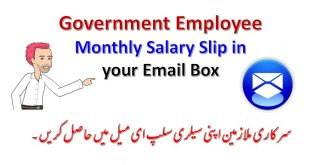Pifra Registration for Monthly Salary Slip