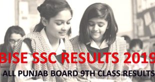 Matric Result 2019 | Matric Part 1 SSC Result 2019