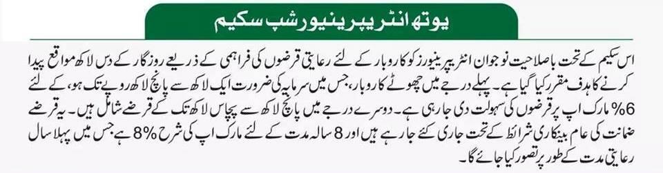 Prime Minister Kamyab Jawan Loan Program 2019 in Urdu by Online Sign up
