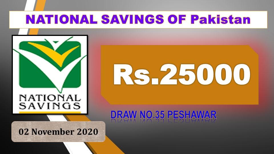 Draw #35 Rs. 25000 Prize bond Result,